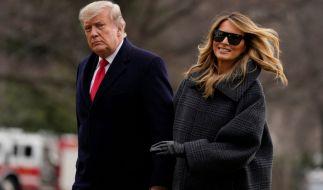 Die Hinweise verdichten sich: Hat Melania Trump ihre Sachen gepackt und Donald Trump verlassen? (Foto)