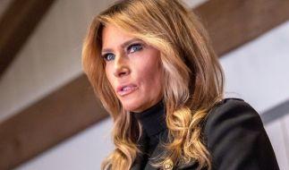 Tritt als First Lady ab: Melania Trump. (Foto)
