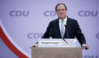 NRW-Ministerpräsident Armin Laschet wird neuer CDU-Chef. (Foto)