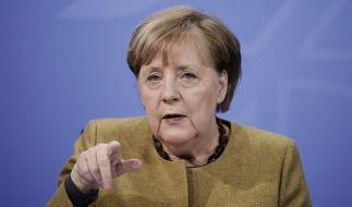 Bundeskanzlerin Angela Merkel wird in einer Pressekonferenz über weitere Lockdown-Regeln Auskunft geben. (Foto)