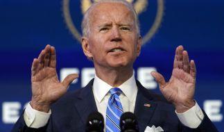 Joe Biden wured am 20.01.2021 als neuer Präsident der Vereinigten Staaten von Amerika in Washington vereidigt. (Foto)