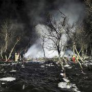 Hütten-Brand fordert fünf Tote - vier Feuer-Opfer waren minderjährig (Foto)