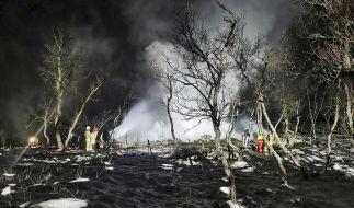 Nach einem nächtlichen Brand in einer Hütte in Norwegen haben die Einsatzkräfte fünf Todesopfer gefunden, darunter die sterblichen Überreste von vier Kindern. (Foto)