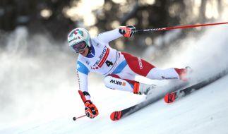 Der Ski alpin Weltcup der Damen gastiert in Crans Montana (Schweiz) (Foto)