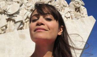 """Claire Oelkers teilt ihren Alltag auf Instagram - hier ist die """"Galileo""""-Moderatorin unterwegs in Portugal. (Foto)"""