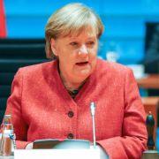 Merkel warnt vor falscher Hoffnung bei 50er-Inzidenz (Foto)