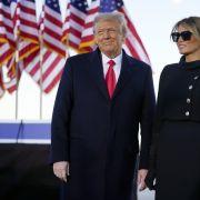 Kein Lebenszeichen! Wo steckt Donald und Melania Trumps Sohn? (Foto)