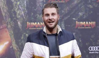 """Maurice Gajda bei der Deutschland-Premiere des Kinofilms """"Jumanji: Willkommen im Dschungel"""" im Jahr 2017. (Foto)"""