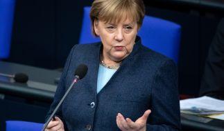 Angela Merkel äußerte sich zur aktuellen Corona-Lage in Deutschland. (Foto)