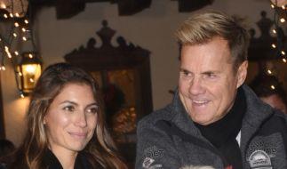 Carina Walz und Dieter Bohlen genießen ihren Spa-Aufenthalt gemeinsam. (Foto)