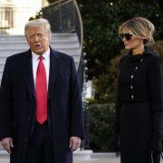 Endlich getrennt! Ex-First Lady verbannt Donald Trump (Foto)