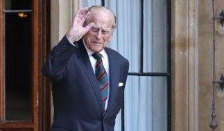 Auch mit fast 100 Jahren nicht unterzukriegen: Prinz Philip, der Herzog von Edinburgh. (Foto)
