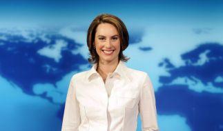 """Laura Dünnwald war mit 26 Jahren die jüngste Nachrichtensprecherin der """"Tagesschau"""" (hier im Jahr 2005). (Foto)"""