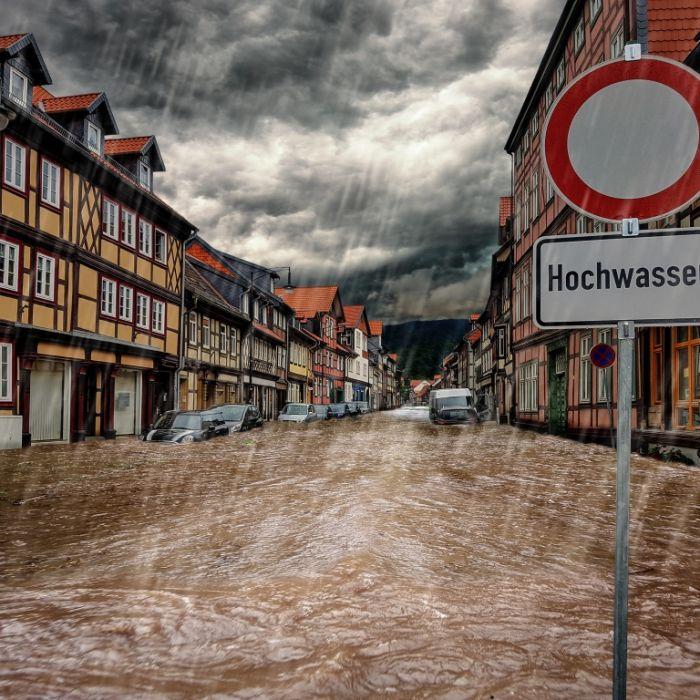 Bis zu 50 Liter Regen in 48 Stunden! Hier drohen Überschwemmungen und Hochwasser (Foto)