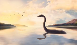 So stellt man sich Nessie vor. Eine Webcam soll nun das Ungeheuer von Loch Ness zum ersten Mal in diesem Jahr aufgezeichnet haben. (Foto)