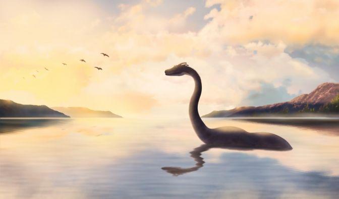 Ungeheuer von Loch Ness im Video