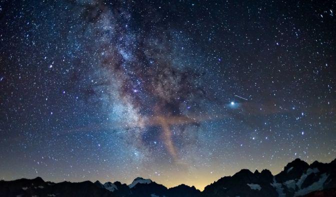 Sternschnuppen im Februar 2021