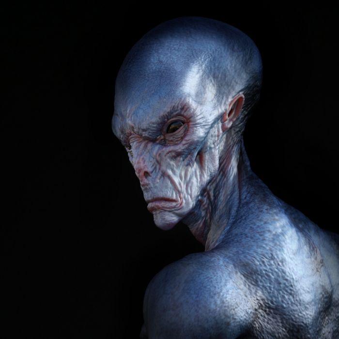 Ohren und Nase abgeschnitten! ER will wie ein schwarzer Alien aussehen (Foto)