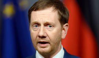 Michael Kretschmer (CDU), Ministerpräsident von Sachsen. (Foto)