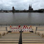 Rhein-Schifffahrt eingestellt! Wetterdienst warnt vor extremen Wassermengen (Foto)