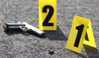 Bei einer Schießerei in Hessen kamen zwei Menschen ums Leben. (Foto)