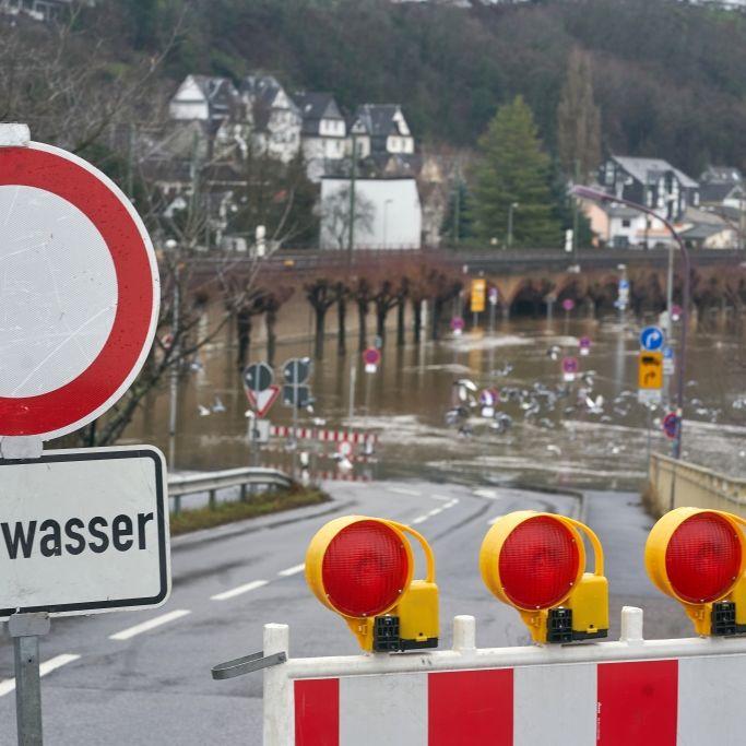 Pegel steigen wieder! HIER drohen Überschwemmungen (Foto)