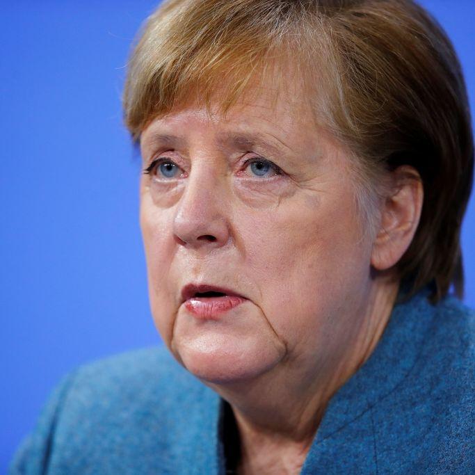 Angela Merkel ruft zu weiterem Durchhalten auf - und verteidigt Impfplan (Foto)