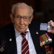 Britischer Nationalheld nach Corona-Infektion gestorben (Foto)