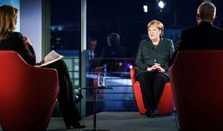 """Auf Twitter verursachte Bundeskanzlerin Merkel mit ihren Aussagen im ARD-Talk """"Farbe bekennen"""" viel Unmut. (Foto)"""