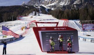 Die alpine Ski-WM 2021 führt die Ski-alpin-Damen und -Herren vom 8. bis 21. Februar nach Cortina d'Ampezzo. (Foto)