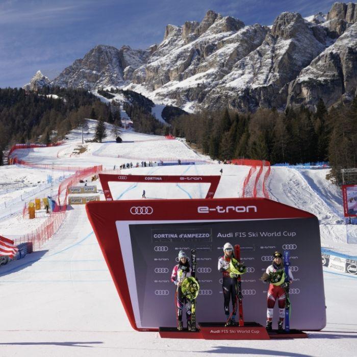 SO sehen Sie heute den Slalom der Herren aus Cortina d'Ampezzo (Foto)