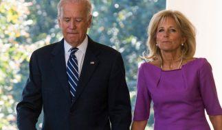 Joe und Jill Biden gaben ihr erstes gemeinsames Interview seit dem Amtsantritt des Präsidenten. (Foto)
