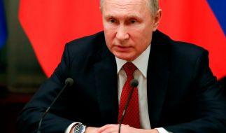 Nach der Verhaftung Nawalnys droht die EU Wladimir Putin mit Sanktionen. (Foto)