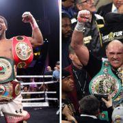 Wann und wo kommt der Mega-Fight um die Box-Krone im Schwergewicht? (Foto)