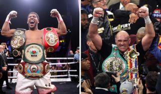 Wer hat die WM-Gürtel nach dem Schwergewichtskampf der Superlative, Anthony Joshua oder Tyson Fury? (Foto)