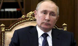 Putin fürchtet angeblich um sein Leben. (Foto)