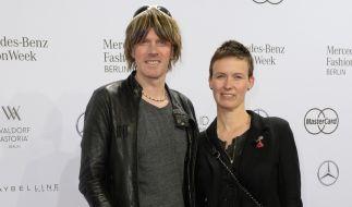 Sänger Mickie Krause besuchte mit seiner Frau Ute die Berliner Fashion Week 2016. (Foto)