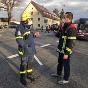 5 Verletzte nach Gasexplosion beim Roten Kreuz (Foto)