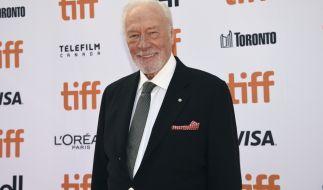 Der kanadische Schauspieler Christopher Plummer ist im Alter von 91 Jahren gestorben. (Foto)