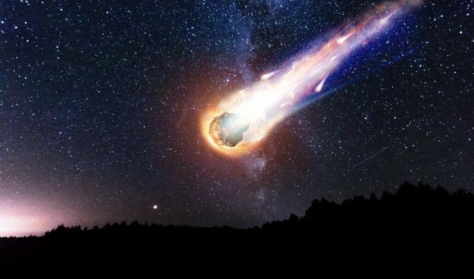 Nach Meteoriten-Einschlag in Fluss