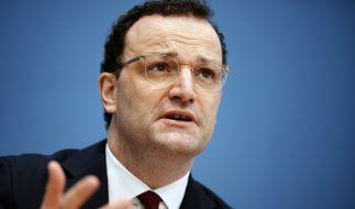Jens Spahn (CDU), Bundesminister für Gesundheit, in den Corona-News am Sonntag. (Foto)