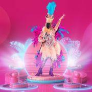 Jury völlig verwirrt! Wer verbirgt sich im Flamingo-Kostüm? (Foto)
