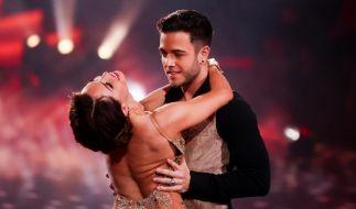 """Bei """"Let's Dance"""" waren Christina Luft und Luca Hänni für das Publikum ein Tanzpaar. Nach der RTL-Show gaben sie bekannt, zusammen zu sein. (Foto)"""