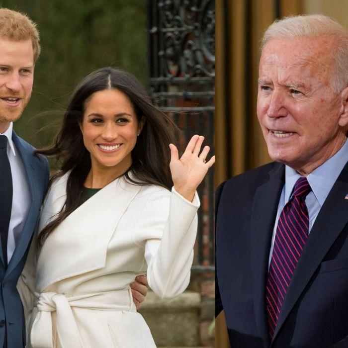Vor der Queen! Drängelt sich Meghan beim US-Präsidenten vor? (Foto)