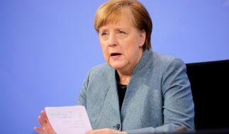 Angeblich wollen Angela Merkel und die Ministerpräsidenten den Lockdown verlängern. (Foto)