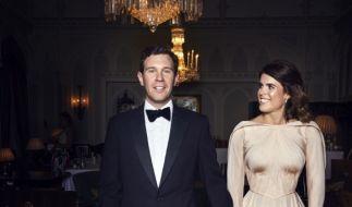 Prinzessin Eugenie und Mann Jack Brooksbank freuen sich über die Geburt ihres Sohnes. (Foto)