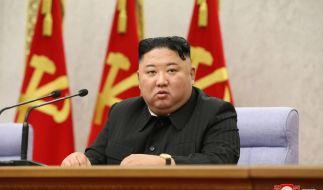 Nordkoreas Machthaber Kim Jong-un soll Cyberkriminelle beauftragt haben, Millionen von US-Dollar für sein Nuklearwaffenprogramm zu stehlen. (Foto)
