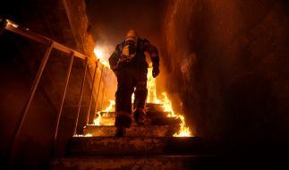 Ein Covid-19-Patient hat in einem spanischen Krankenhaus ein Feuer gelegt. (Symbolfoto) (Foto)