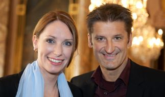 Hartmut Engler mit seiner Freundin Katrin im Jahr 2010. (Foto)