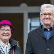 Winfried und Gerlinde Kretschmann sind seit 1975 verheiratet.